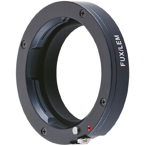 Novoflex Adapter for Leica M Mount Lenses to Fujifilm X Mount Digital Cameras