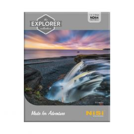 NiSi Explorer Collection 100x100mm Nano IR Neutral Density filter – ND64 (1.8) – 6 Stop 111786 Nisi 192.600000