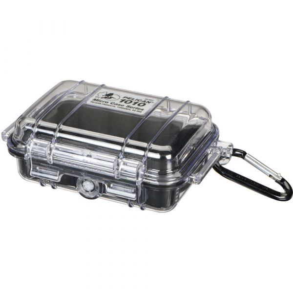 Pelican 1010 Micro Case (Clear Black with Colored Lining) 1010CWB Pelican 22.800000