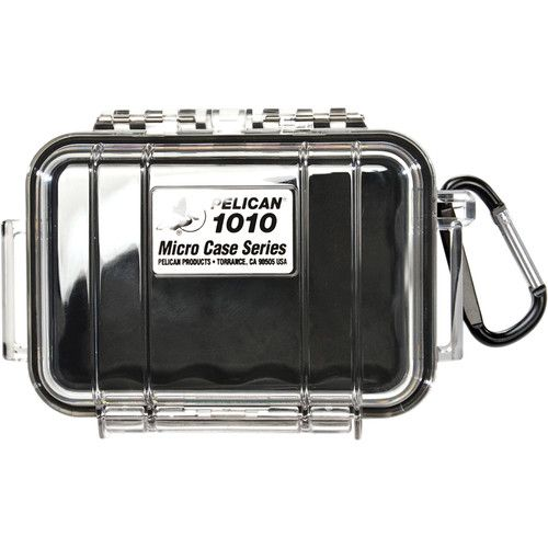 Pelican 1010 Micro Case (Clear Black with Colored Lining) 1010CWB Pelican 19.200000