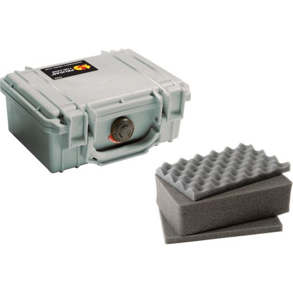 Pelican 1120 Case with Foam (Silver) 1120S Pelican 55.800000