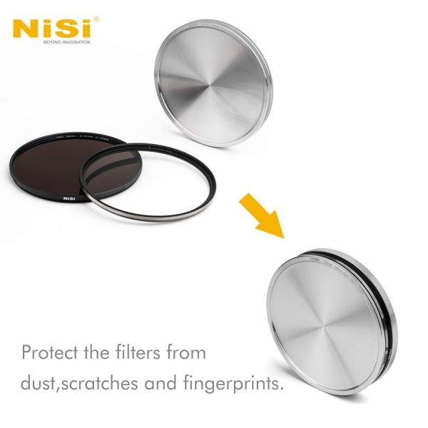 NiSi 67mm Metal Stack Caps 112213 Lens Caps & Hoods 19.130000