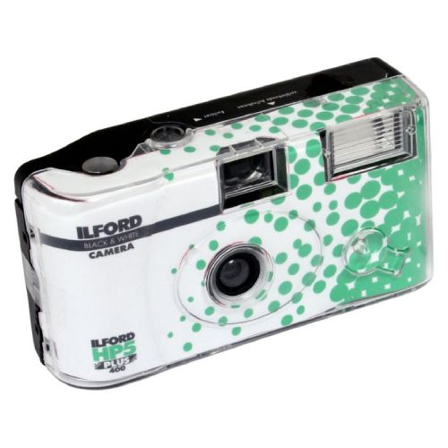 Ilford HP5 Plus Single Use Camera with Flash 27 Exposures 1174168 Disposable Cameras 19.95