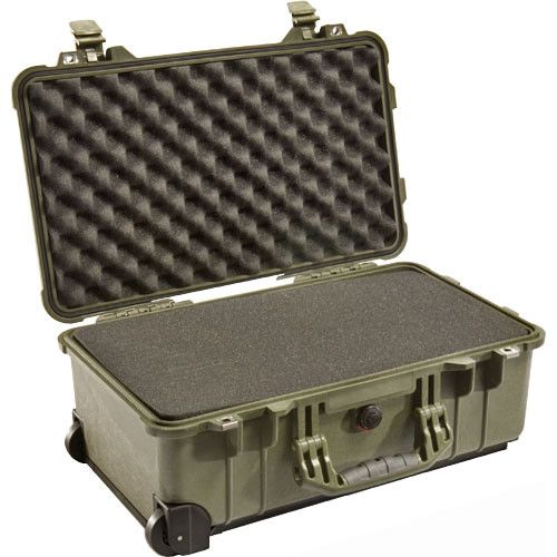 Pelican 1510 Carry-On Case with Foam Set (Olive Drab) 1510ODG Pelican 318.400000