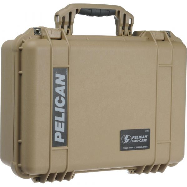 Pelican 1500 Case with Foam (Desert Tan) 1500DT Pelican 265.050000