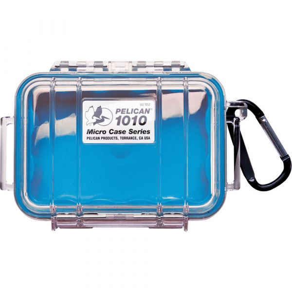 Pelican 1010 Micro Case (Clear Blue with Colored Lining) 1010CWBL Pelican 19.200000