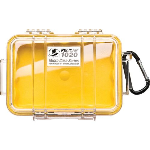 Pelican 1020 Micro Case (Clear Yellow) 1020CWY Pelican 28.800000