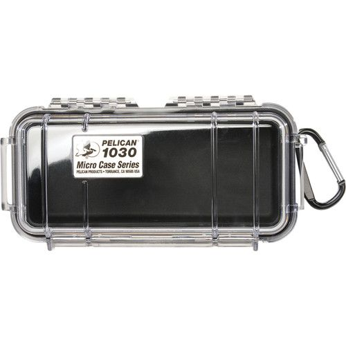 Pelican 1030 Micro Case (Clear Black with Colored Lining) 1030CWB Pelican 26.400000