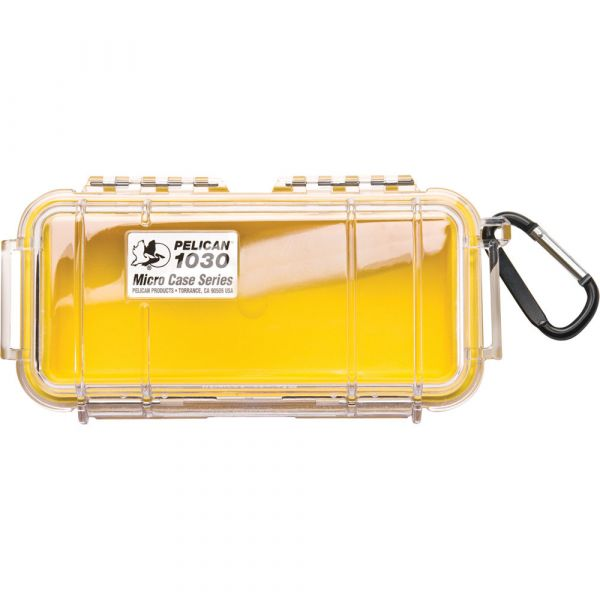 Pelican 1030 Micro Case (Clear Yellow with Colored Lining) 1030CWY Pelican 24.000000