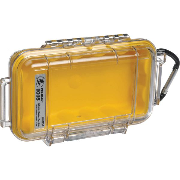 Pelican 1015 Micro Case (Clear Yellow) 1015CWY Pelican 30.400000
