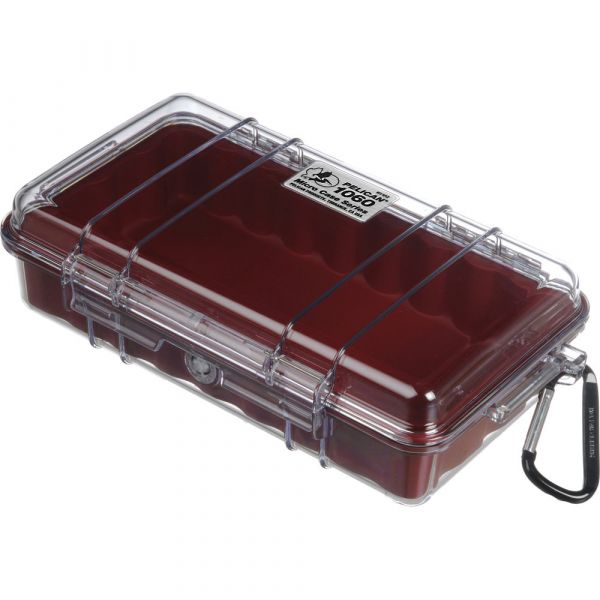 Pelican 1060 Clear Micro Case (Red) 1060CWR Pelican 42.750000