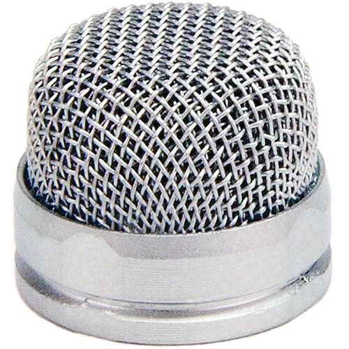 Rode Custom Pin-Head Replacement Unpainted Mesh Head for the PinMic (Silver) PINHEADC Rode 15