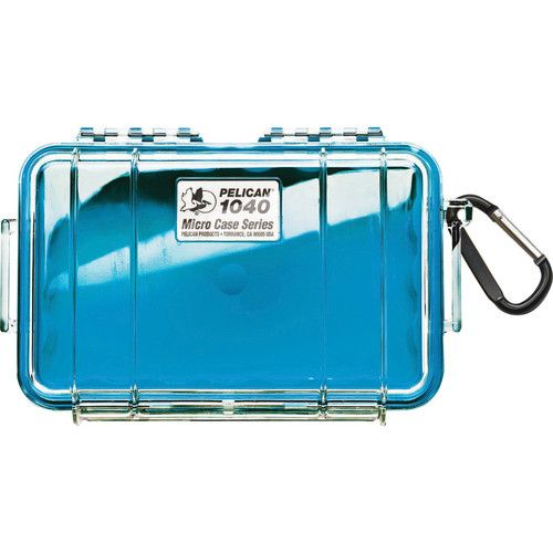 Pelican 1040 Micro Case (Clear Blue with Colored Lining) 1040CWBL Pelican 33.250000