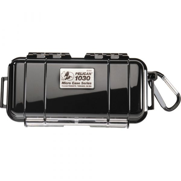 Pelican 1030 Micro Case (Solid Black with Black Lining) 1030BWB Pelican 31.350000