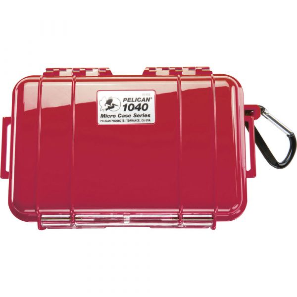 Pelican 1040 Micro Case (Solid Red with Black Lining) 1040RWB Pelican 31.500000