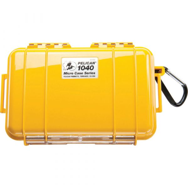 Pelican 1040 Micro Case (Solid Yellow with Black Lining) 1040YWB Pelican 28.000000