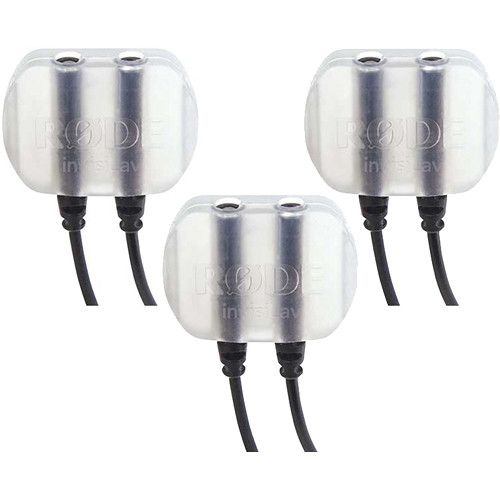 Rode invisiLav Discreet Lavalier Mounting System (3-Pack) INVISI3PK Rode 20