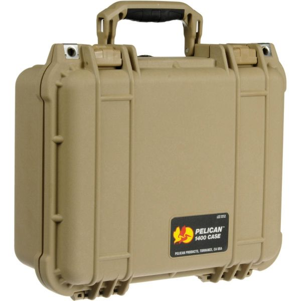 Pelican 1400 Case with Foam (Desert Tan) 1400DT Pelican 148.000000