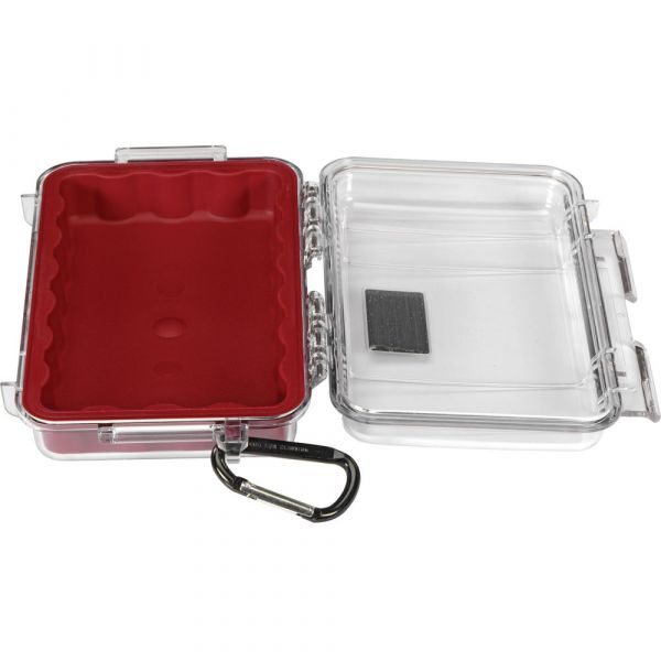 Pelican 1040 Micro Case (Clear Red with Colored Lining) 1040CWR Pelican 33.250000