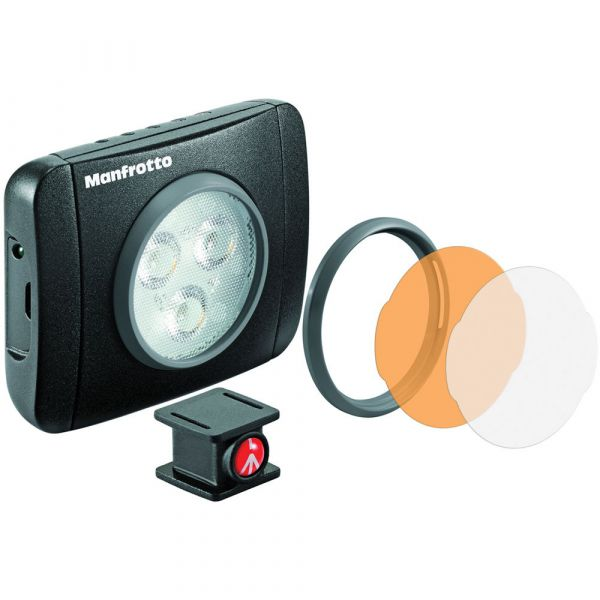 Manfrotto Lumimuse 3 On-Camera LED Light (Black) MLUMIEPL-BK Manfrotto 76.240000