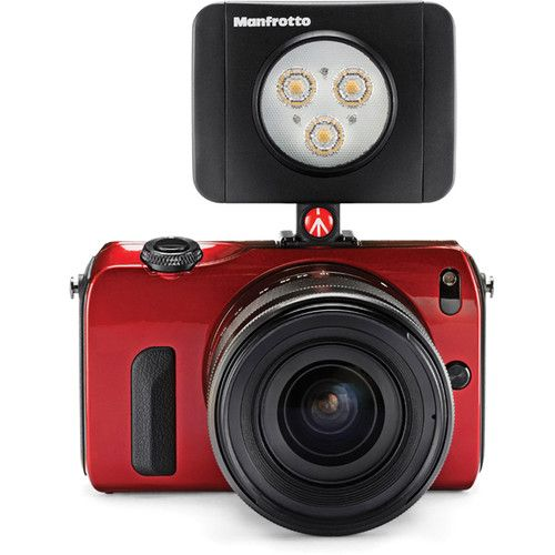 Manfrotto Lumimuse 8 On-Camera LED Light with Built-In Bluetooth (Black) MLUMIMUSE8A-BT Manfrotto 220.400000