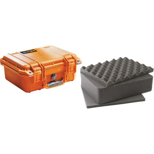 Pelican 1400 Case with Foam (Orange) 1400O Pelican 175.750000