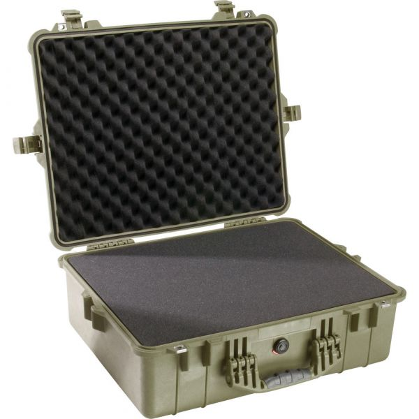 Pelican 1600 Case with Foam Set (Olive Drab Green) 1600ODG Pelican 396.150000