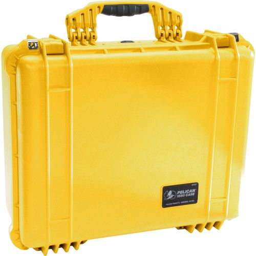 Pelican 1550 Case with 4-Piece Foam Set (Yellow) 1550Y Pelican 335.350000