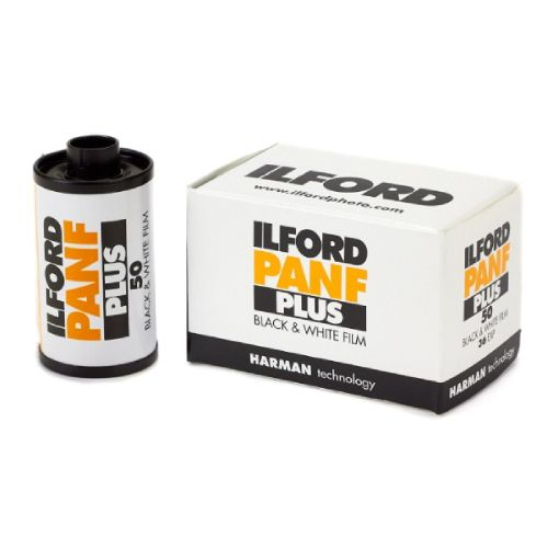 Ilford Pan F Plus ISO 50 35mm 36 Exposure Black & White Film 1707768 Ilford 21
