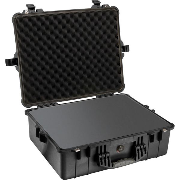 Pelican 1600 Case with Foam Set (Black) 1600B Hard Cases 399