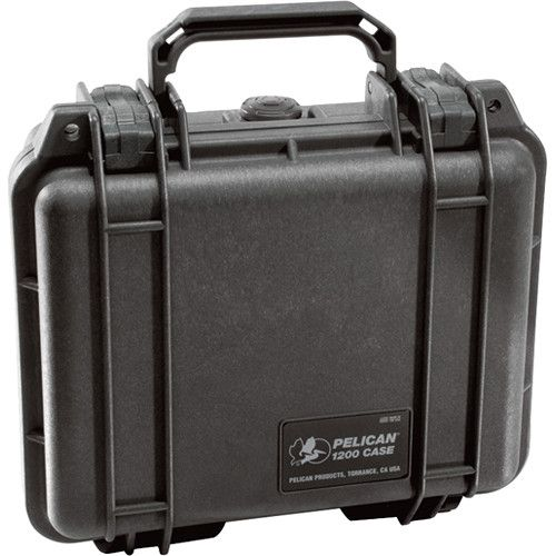 Pelican 1200 Case with Foam (Black) 1200B Hard Cases 89.100000