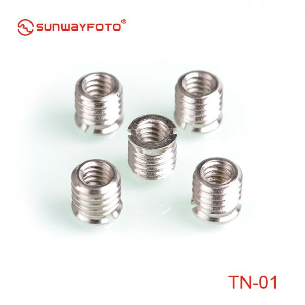 Sunwayfoto TN-01 Bushing Reducer 9mm (5 Pack) 43932 Sunwayfoto 19.000000