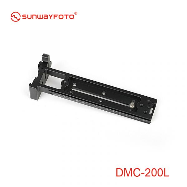 Sunwayfoto DMC-200LR Vertical Rail with (on-end) Clamp 43937 Focusing Rails 171