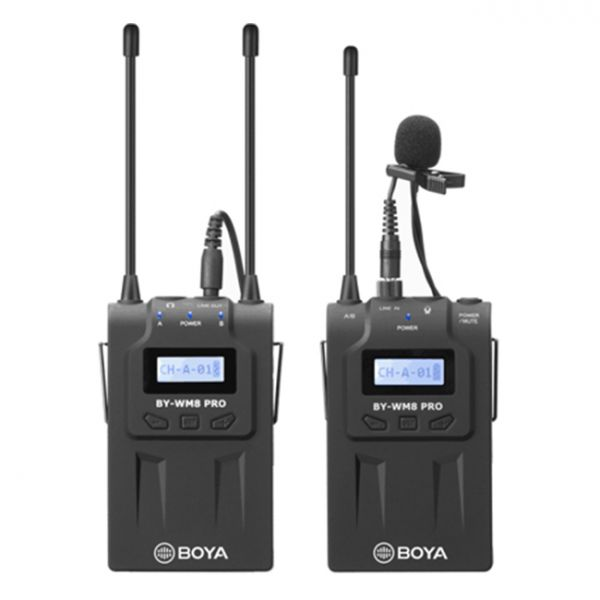 BOYA BY-WM8 Pro-K2 UHF Dual-Channel Wireless Microphone System 500125 All Gift Ideas 399