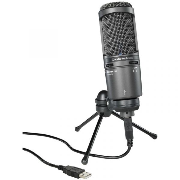 Audio Technica AT2020USB+ USB Microphone AT2020 USB+ Microphones 239
