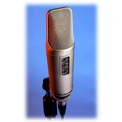 Rode NT2-A – Multi-Pattern Dual 1″ Condenser Microphone NT2A Microphones 455