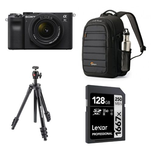 Sony a7C Ultimate Travel Photography Kit A7CTRAVEL Mirrorless Cameras 3865