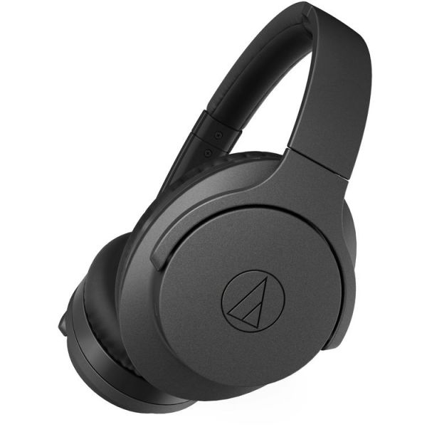 Audio-Technica QuietPoint Wireless Active Noise-Cancelling Over-Ear Headphones (Black) ATH-ANC700BT BK Headphones 279