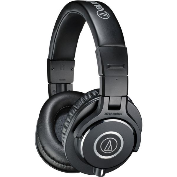 Audio-Technica ATH-M40x Monitor Headphones - Black ATH-M40x Headphones 149
