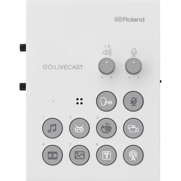 Roland GO:LIVECAST Live Streaming Audio and Video Studio for Smartphones and Tablets GO:LIVECAST Streaming Devices 399