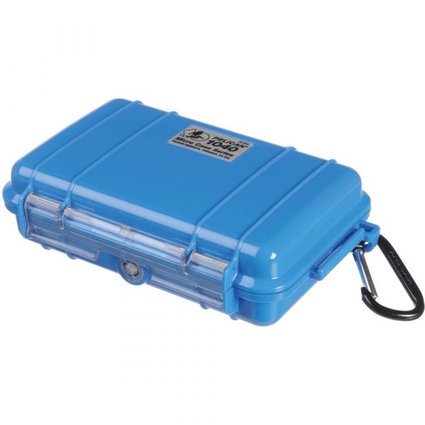 Pelican 1040 Micro Case (Solid Blue with Black Lining) 1040BLWB Pelican 33.250000