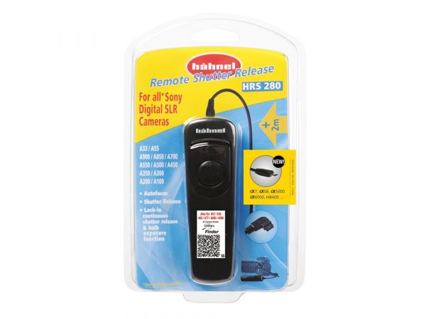 Hahnel HRS 280 Remote Shutter Release for Sony CHLHRSPRO280 Hahnel 34