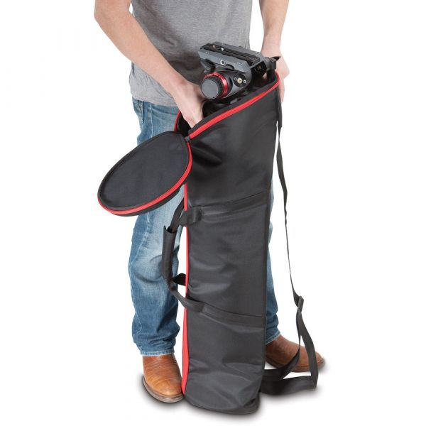 Manfrotto MBAG100PNHD Tripod Bag Padded 100CM (Black/Red Trim) MBAG100PNHD Manfrotto 267.200000