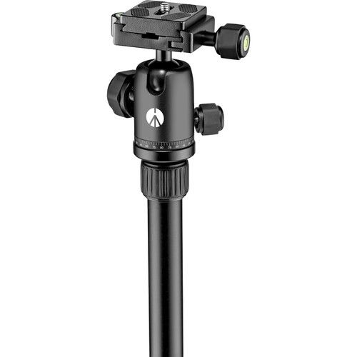 Manfrotto Element Aluminum Traveler Tripod with Carrying Case (Black) MKELES5BK-BH Manfrotto 188