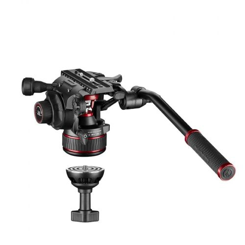 Manfrotto Nitrotech 608 version Video Tripod Kit (4 Sec - Carbon Fibre) MVK608CTALL Manfrotto 2699.100000