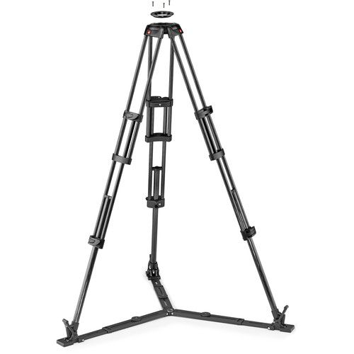 Manfrotto Carbon Fiber Twin Video Tripod Legs with Ground Level Spreader MVTTWINGC Tripod Legs 1154