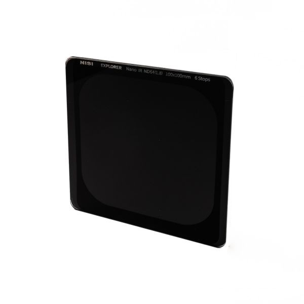 NiSi Explorer Collection 100x100mm Nano IR Neutral Density filter – ND64 (1.8) – 6 Stop 111786 Nisi 181.900000