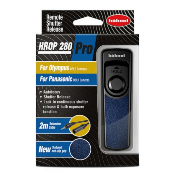 HAHNEL - HROP 280 Pro Remote Shutter Release - Olympus/Panasonic CHLHROPPRO280 Cabled Triggers 32