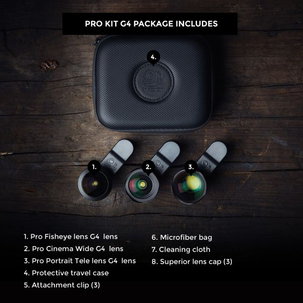 Black Eye PRO Kit G4 BE006 Add-On Lenses & Filters 369.95