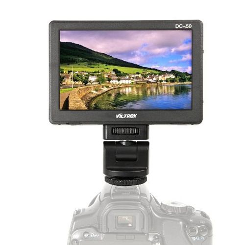 Viltrox DC-50 5-inch Video Monitor LCD Screen ViltScreenDC50 Viltrox 371.8